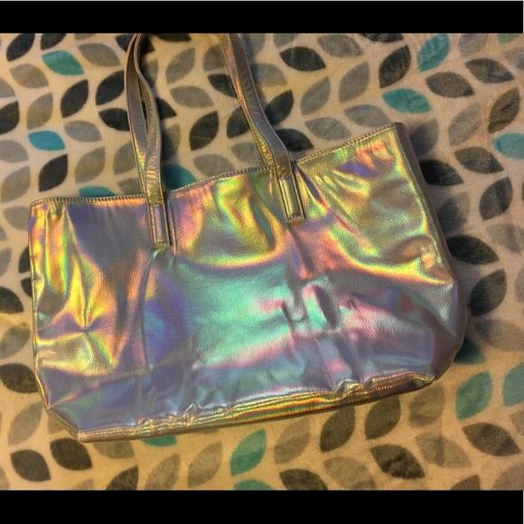 Ulta Beauty Handbags - Reflective Rainbow Bag